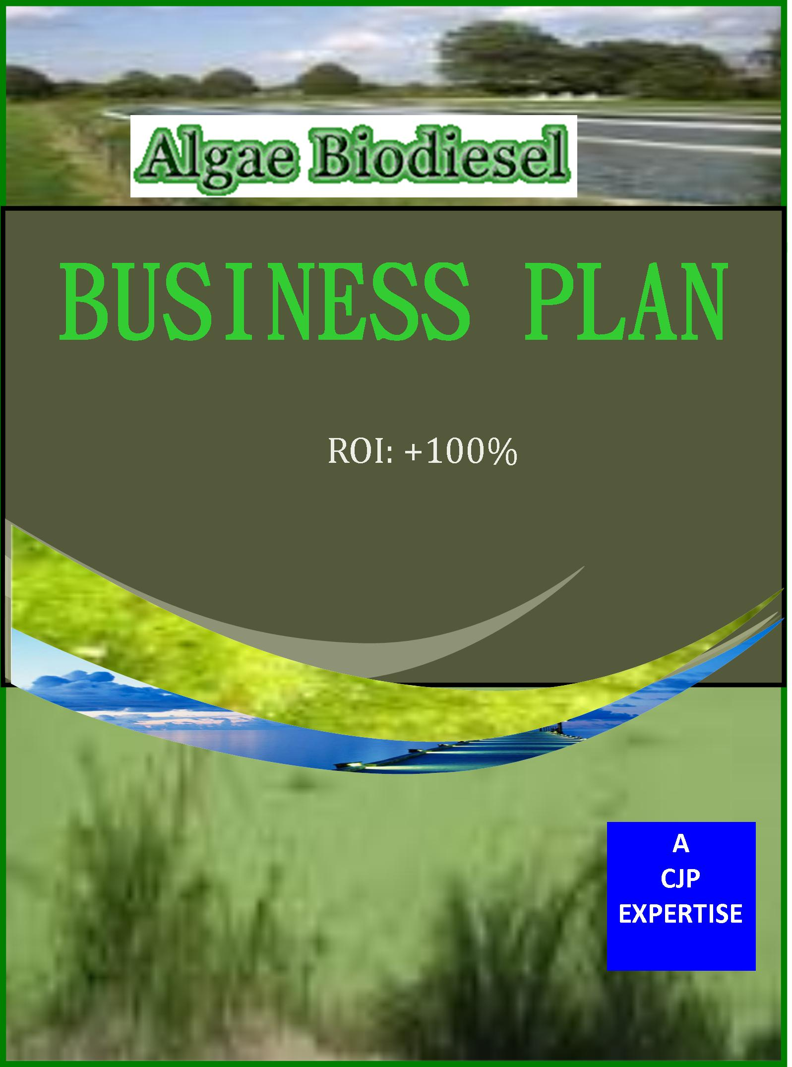 ALGAE BIODIESEL BUSINESS PLAN